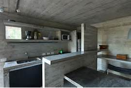 Amazing Brazilian Restaurant Without Walls Modern Concrete Kitchen In The Franz House Designed By BAK Architects