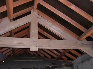 Ferme De Charpente : charpente bois ferme poutre 15x15 bois guehenno online ~ Melissatoandfro.com Idées de Décoration
