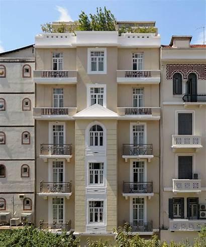Hotel Building Heritage Greece Modernist Thessaloniki Boutique
