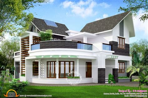 modern unique  bedroom house design ground floor