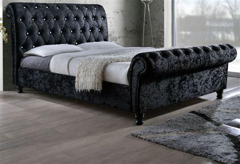 birlea furniture bordeaux upholstered beds crystal