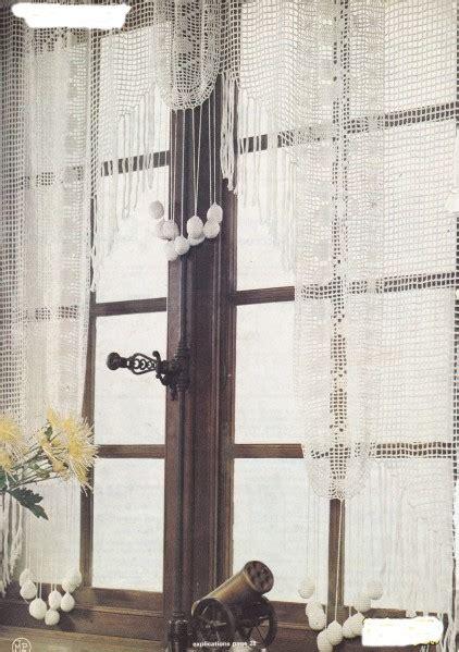 chambre ile de ré crochet rideau à franges et pompons quot epoque quot avec