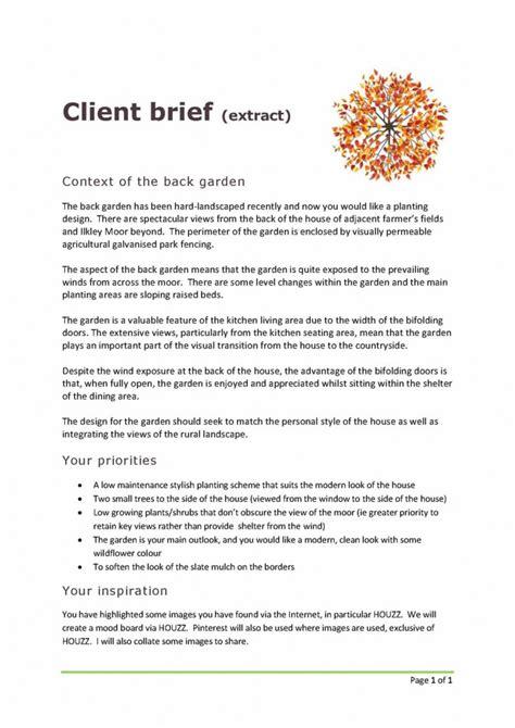 garden design brief great garden design brief contemporary garden and landscape ideas ditoka com