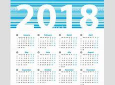 2018 calendar with week numbers printable Tiredriveeasyco