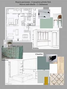 Cabinet D Architecture D Intérieur : conception graphique planches tendances plans perspectives planches mat riaux ~ Nature-et-papiers.com Idées de Décoration