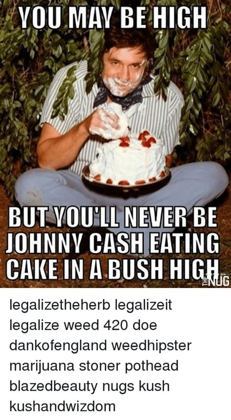 Johnny Cash Memes - 25 best memes about you may be high you may be high memes