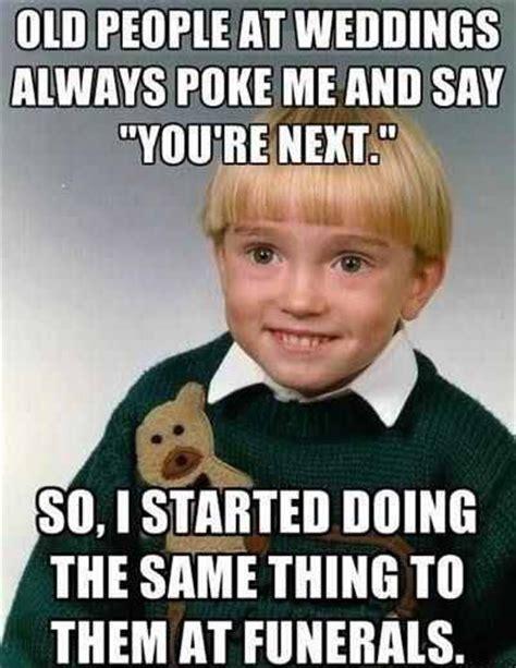 Kid Meme - picz i like old people at weddings kid