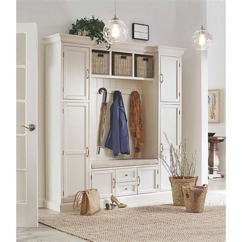 Hallway Organization And Entryway Furniture Collection by Home Decorators Collection Royce 4 Hook Contemporary Wood