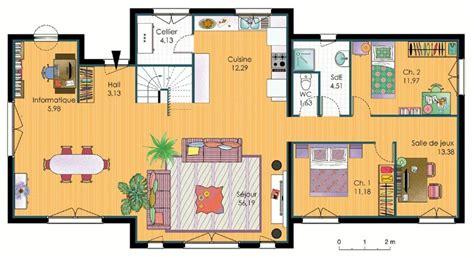 plan maison etage 3 chambres gratuit document non trouvé erreur 404 faire construire sa maison
