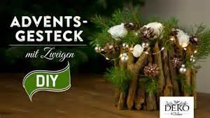weihnachtsdeko 2015 selber machen weihnachtsdeko basteln adventsgesteck mit zweigen how to deko kitchen