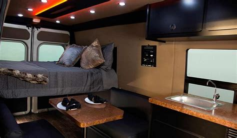 Open Kitchen Layout Ideas - promaster cer conversion dodge van conversion