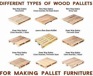 Pallet Types for Making DIY Pallet Furniture Pallets Designs