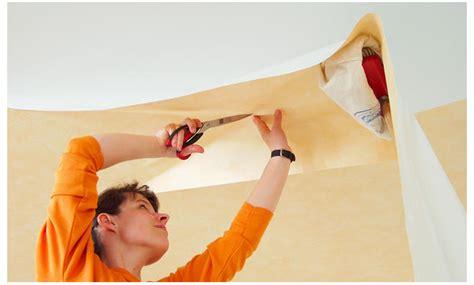 Decke Tapezieren Anleitung by Decke Tapezieren Anleitung Finest Decke Tapezieren With