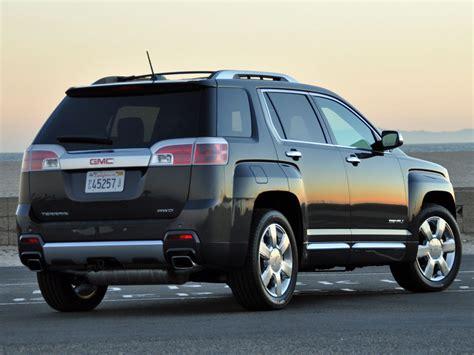 Comparison  Gmc Terrain Denali Suv 2015  Vs Ford