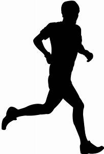 Runner Silhouette   Free vector silhouettes