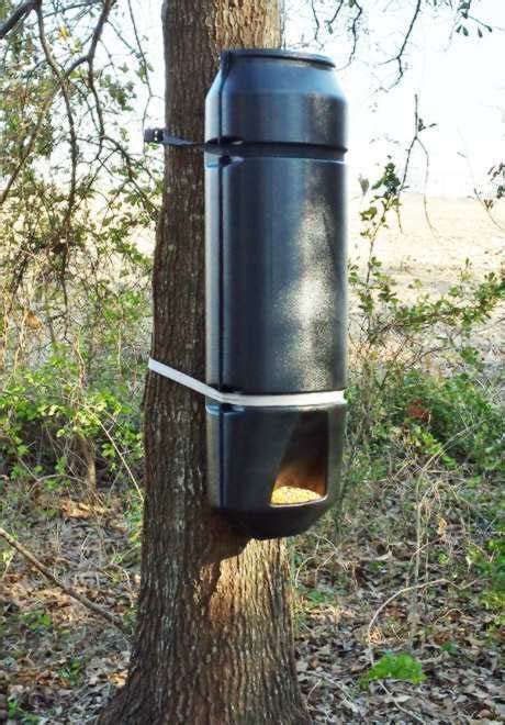 how to build a gravity deer feeder deer quot pig out quot gravity fed feeder kit wildlife corn