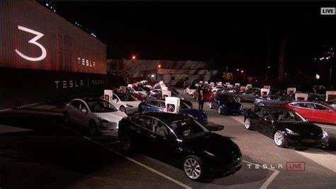 Tesla Model 3 Release Date