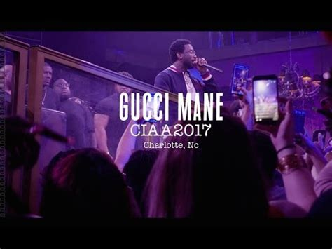 gucci mane   label charlotte ciaa weekend