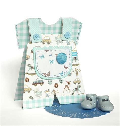 boy baby dungaree card tutor  craft blog