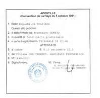 Prefettura Di Roma Ufficio Legalizzazioni by Traduzione Con Apostille Servizio Di Apostille