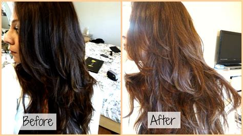 Dye Brown Hair Black by How I Dye My Hair From Black To Chocolate Ash Brown At