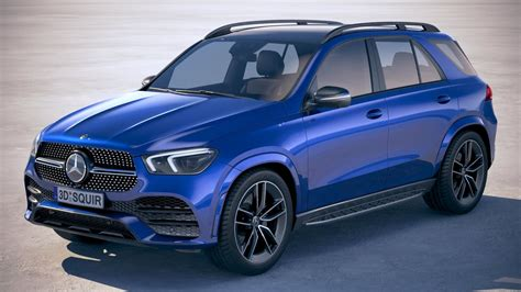 And that is exactly what will happen. Mercedes Benz GLE AMG 2020 3D Model