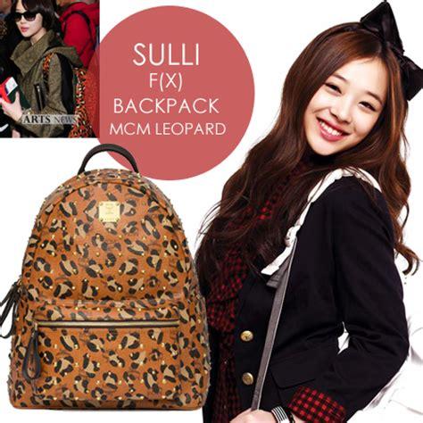 backpack mcm purple taemin shinee wave k shop 웨이브 k 상점