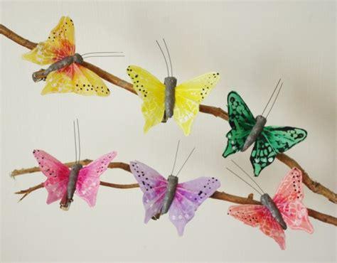 papillon de d 233 coration x12 papillons artificiels en plumes 6cm papillons artificiels de