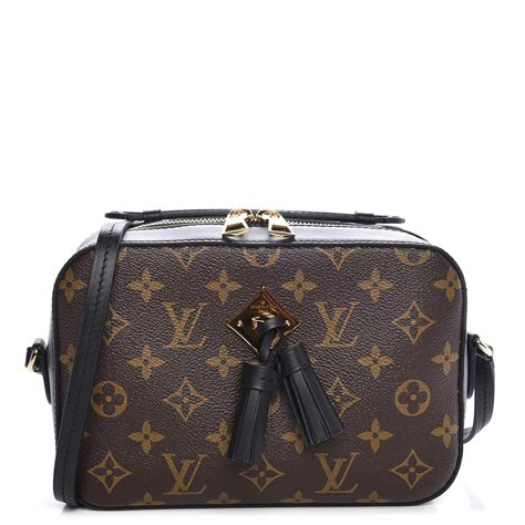 louis vuitton monogram saintonge black