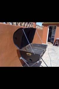 Fabriquer Un Barbecue Avec Un Bidon : barbecue recup bidon recup barbecue bbq et barbacoa ~ Dallasstarsshop.com Idées de Décoration