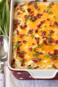 cheesy mashed potato casserole lil 39