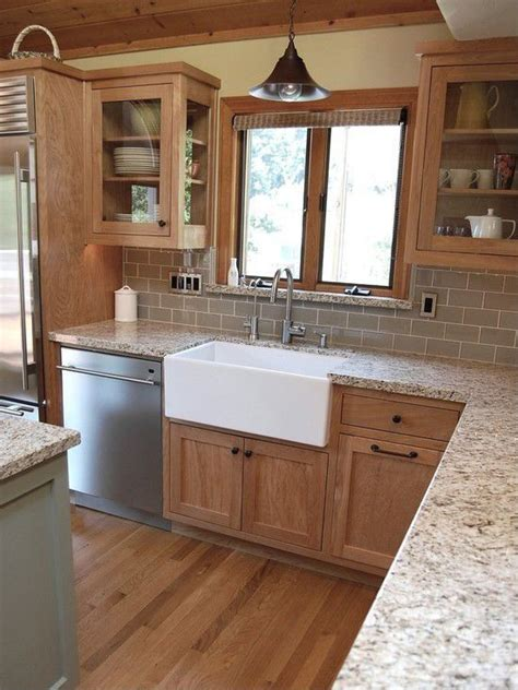 countertop colors for light oak cabinets 30 gorgeous kitchen cabinets for an elegant interior decor