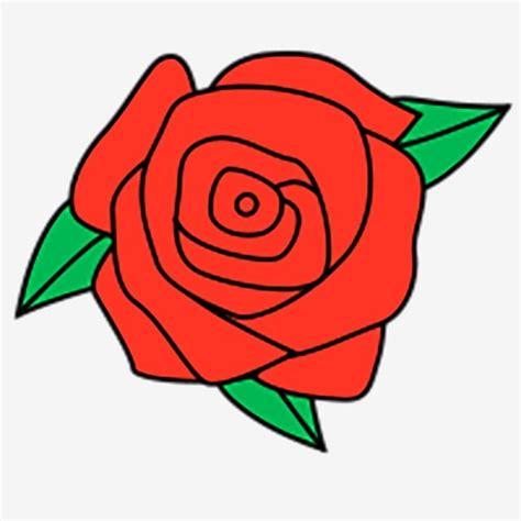 800+ Gambar Bunga Mawar Merah Kartun Terbaik Gambar ID