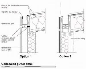 MODERN CONCEALED GUTTER DETAIL - Google Search