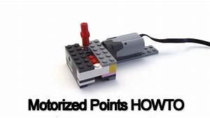 HOWTO Create A LEGO Motorized Train Points Track LEGO