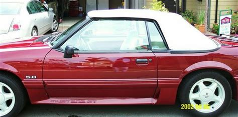 Rausch Ford Mustang by Rausch 1989 Ford Mustang Specs Photos Modification Info