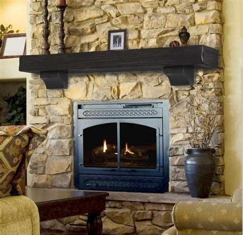 pearl mantel shenandoah rustic fireplace mantel shelf