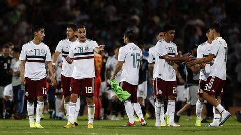 Así será el calendario de la Selección Mexicana en 2019 ...