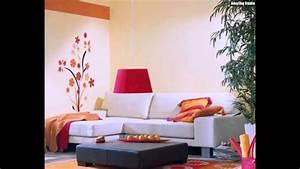 Wandfarben Wohnzimmer Beispiele : sch ner wohnen wandfarben sand youtube ~ Markanthonyermac.com Haus und Dekorationen