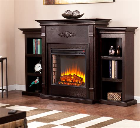 electric fireplaces direct tennyson electric fireplace media console in espresso fe8545