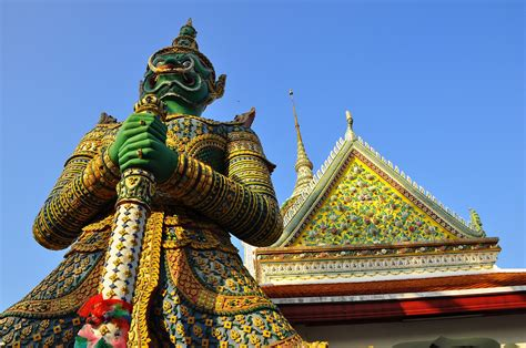 Wat Arun Bangkok Wallpaper Travel Hd Wallpapers