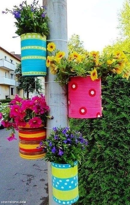 Garden Decoration Pots Ideas by Flower Pot Idea Garden Gardening Idea Gardening Ideas