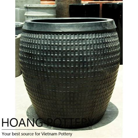 large ceramic planters large ceramic planter outdoor hpan029 hoang pottery