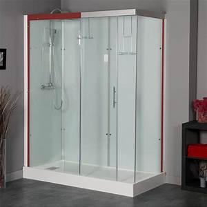 Cabine De Douche Receveur Haut : cabine de douche rectangulaire 120x90 cm thalaglass 2 ~ Edinachiropracticcenter.com Idées de Décoration