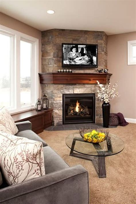 fascinating modern fireplace design  awesome living