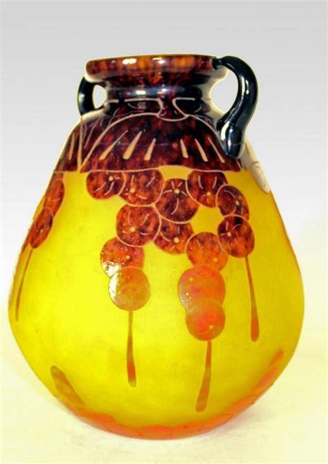 ch schneider le verre fran 199 ais imposant vase quot groseilles