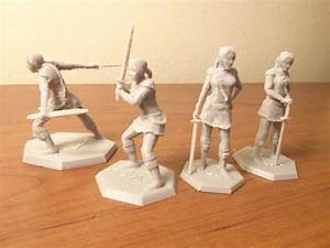 Design A Knight Game 3d Printed Female Knights Game Pieces Include Everyone