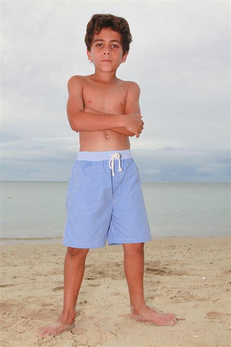 robe de chambre homme coton maillot de bain garçon poisson é bleu l 39 orangerie