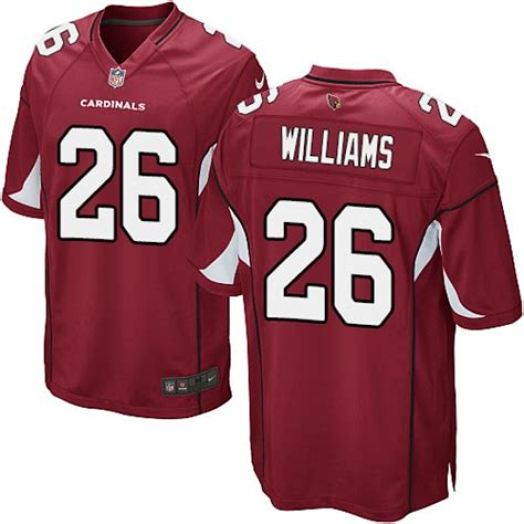 Men's Nike Arizona Cardinals #26 Brandon Williams Game Red ...