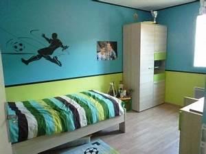 Chambre Garçon 6 Ans : chambre foot chambre d 39 enfant montrez nous celle de votre bambin deco camas ~ Farleysfitness.com Idées de Décoration